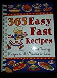 img - for 365 Easy Fast Recipes book / textbook / text book