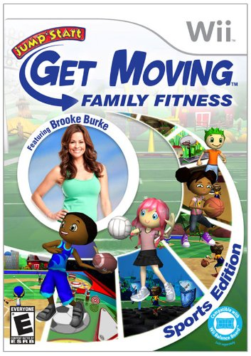 Jumpstart Get Moving Family Fitness Wii (Games Wii For Exercise Kids)