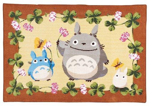 (Chenille) Studio Ghibli Totoro blanket flower play