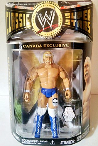 Blue Boulder (WWE Jakks Pacific Wrestling Classic Superstars Exclusive Action Figure Terry Boulder Hulk Hogan (Blue Tights Blue Boots))