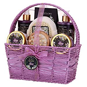 Amazon Com Spa Gift Basket For Women Bath And Body Gift