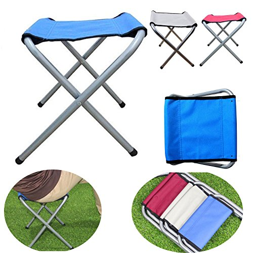 Chairs Practical Outdoor Foldable Stool Folding Camping Fishing Travel Picnic