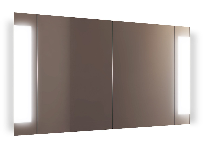 Zaal LED Bathroom Mirror Cabinet With Demister Pad, Sensor & Shaver k1507i