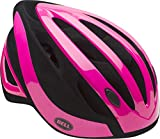 Bell Adult Impel Bike Helmet, Gloss Pink/Black Flocked