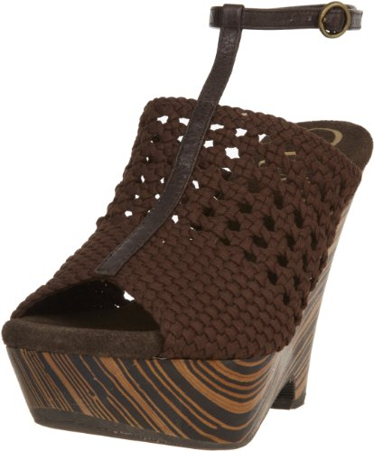 Vogue Women's Dirty Martini Wedge,Brown,10 M - Vogue Shop Online