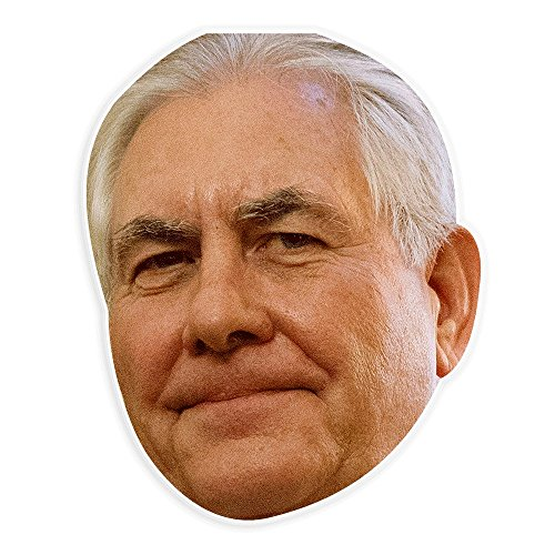 Neutral Rex Tillerson Mask - Perfect for Halloween, Masquerade, Parties, Events, Festivals, Concerts - Jumbo Size Waterproof