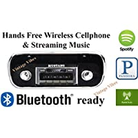 Bluetooth Enabled 1967-1973 Mustang USA-630 II High Power 300 watt AM FM Car Stereo/Radio