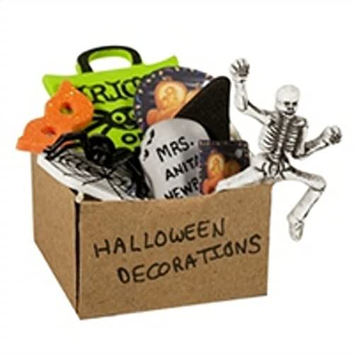 Best Halloween Decorations, Halloween Props for your Home Yard Lawn GIGALUMI 3 Set Halloween String Lights ft Battery Operated Pumpkin Bat Ghost Halloween Lights Decoration for Halloween, Christmas, Party.