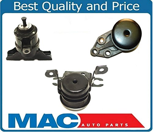 for 01-04 ESCAPE 3.0L Automatic 100% New Engine & Transmission Mounts 3pc Kit