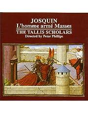 JOSQUIN. L'homme armE Mass. Tallis Scholars/Phillips
