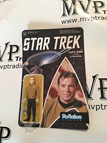 Star Trek CAPT. KIRK ReAction 3 3/4-Inch Retro Action Figure