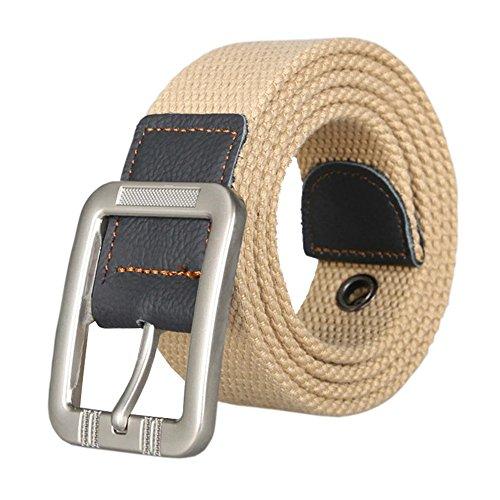 Waist Belt Web Belt Canvas Belt Woven Belt Jeans Belt for Men and Women