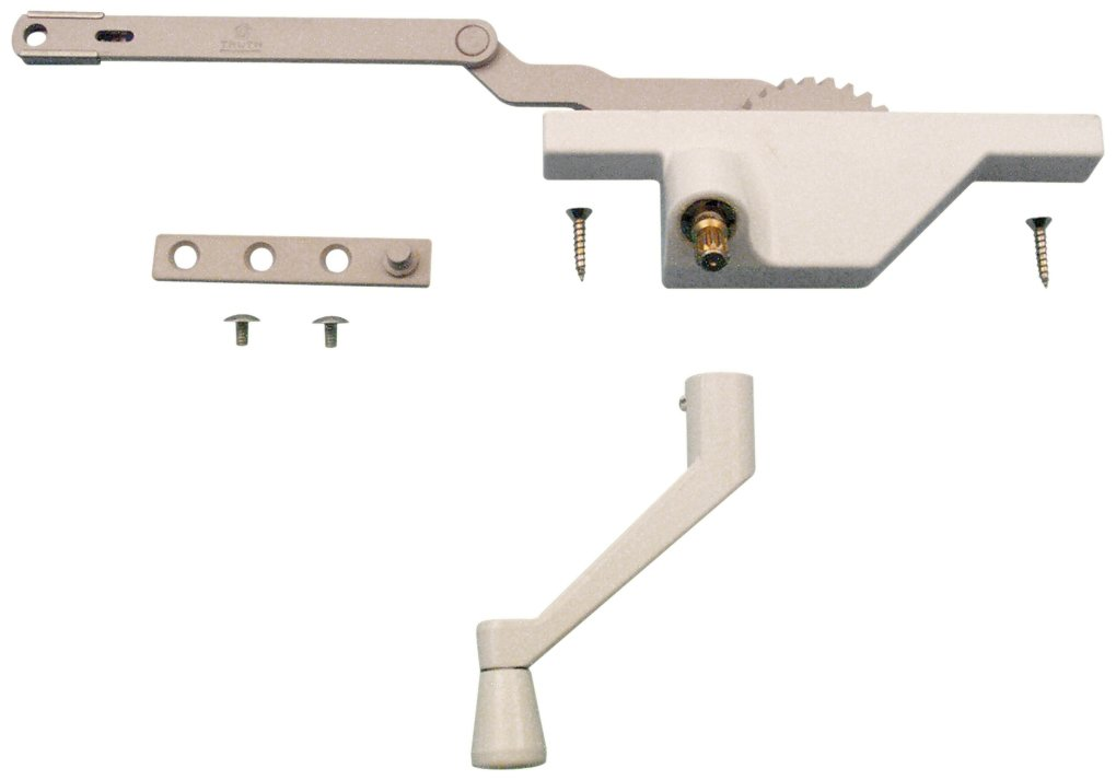 Prime-Line Products TH 23091 Dyad Operator with Stud Bracket, Left Hand, White