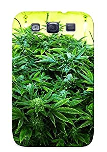 lintao diy Christinbris High Quality Marijuana Weed 420 Ganja Case For Galaxy S3 / Perfect Case For Lovers