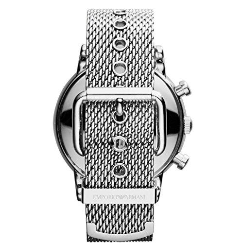 Emporio Armani Herren-Armbanduhr Chronograph Quarz Edelstahl AR1811