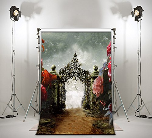 LB 3X5ft The Outdoor Poly Fabric Photography Background Customized Photography Backdrop Studio Prop 2570