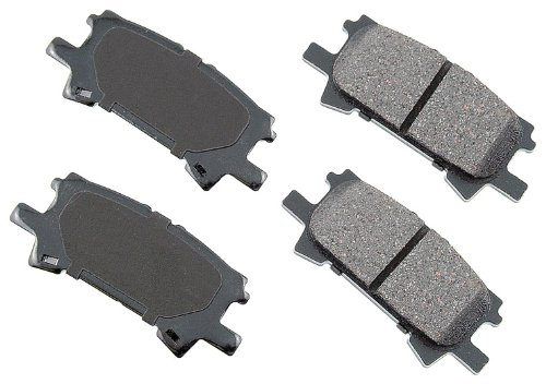 Akebono ACT996 ProACT Ultra-Premium Ceramic Brake Pad Set