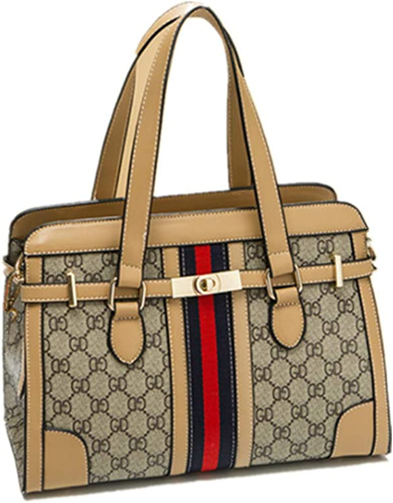 Kbinter Women Fashion Handbag Cross Body Bag Waterproof Handle Leather Purse Zipper Wallet Bag