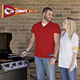 Applied Icon, NFL Kansas City Chiefs Outdoor Pennant Decal