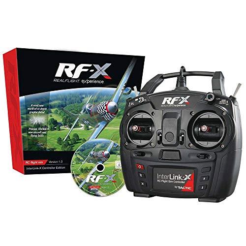 (RealFlight RF-X with Interlink-X)