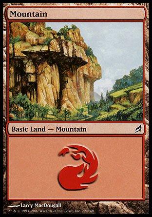 (Magic: the Gathering - Mountain (294) - Lorwyn -)