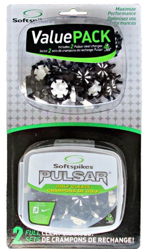Softspikes Pulsar Golf Cleat Fast Twist Value Pack (Fast Pulsar Softspikes Twist)
