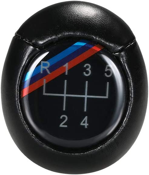 KKmoon 5//6 Speed Manual Car Gear Shift Knob Fit for BMW 3 5 6 Series E34 E39 E36 E30 E38 E46 E60 E90