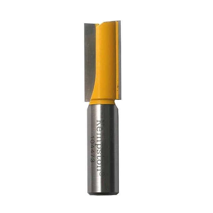 1//2-Inch Shank Kempston 1044111 Straight Bit 1-1//4-Inch Cutting Diameter by 1-1//4-Inch Cutting Length