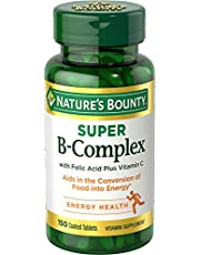 Nature's Bounty B-Complex with Folic Acid Plus Vitamin C