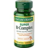 Nature's Bounty Super B-complex with Folic Acid Plus Vitamin C, 150-Count