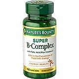 Nature's Bounty B-Complex with Folic Acid Plus Vitamin C, Tablets 150 ea