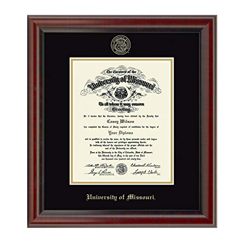 M. LA HART University of Missouri PhD Diploma Frame, The Fidelitas