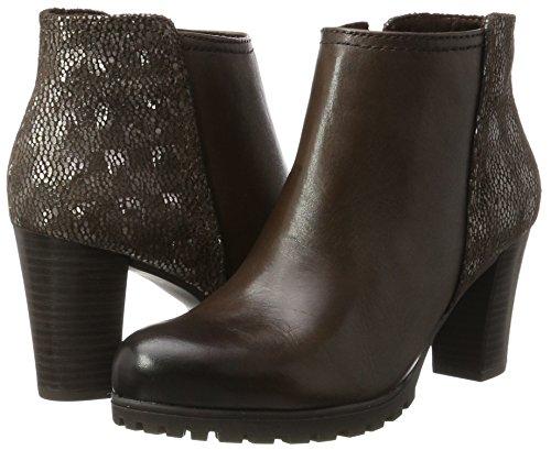 Multi CAPRICE 361 25400 Dk Boots Women''s Brown Brown wpxYPZ