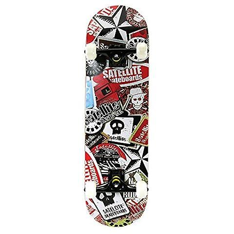 OneHype - Pro Complete Skateboard Satellite Skate, 31