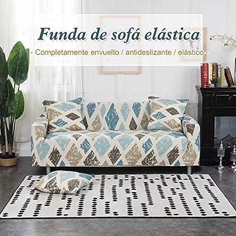 Solguay™ Funda Elástica Universal para Sofá, 16 Estilos Individual (90-140CM) Rosa