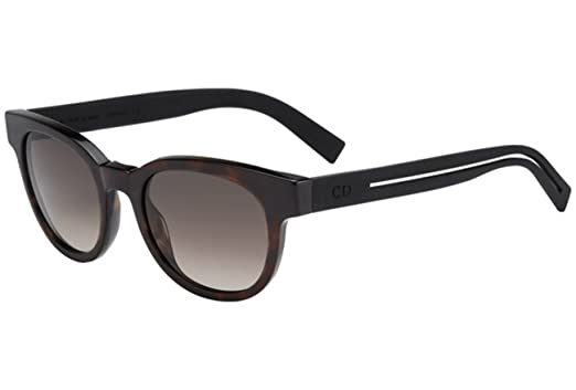 Amazon.com: Christian Dior Black Tie 182/S – Gafas de sol ...