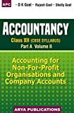 Accountancy for Class XII: Part A - Vol. II (2018-19 Session)