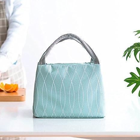 Fansi 1 Pcs Dames Mode Casual Sac /à Lunch en Plein air Sac Vert Sac de Rangement Seau Sac Sac /à cosm/étiques Style A