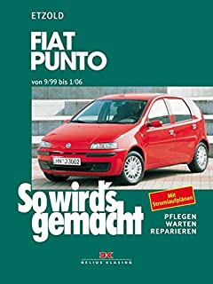 owners manual fiat punto 1