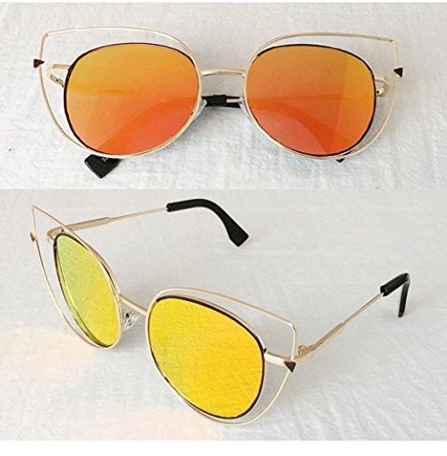 Rondes De x Lym A Personnalité Soleil amp; Creuses Protection Lunettes E amp;lunettes couleur 4wYwqT