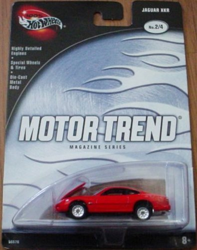 - Hot Wheels Motor Trend Magazine Series Jaguar XKR 2/4 Red