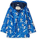 Hatley Boys' Little Printed Raincoats, Athletic Astronauts, 6 Years