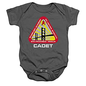 Infant: Star Trek- Starfleet Cadet Onesie Infant Onesie Size 0-6 Mos
