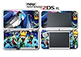 Star Fox 64 3D Falco Peppy Slippy Andross Video Game Vinyl Decal Skin Sticker Cover for Nintendo New 2DS XL System Console