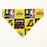LA Lakers Dog Bandana No-Tie