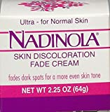 Nadinola Discoloration Fade Cream 2.25oz Normal Skin (並行輸入品)