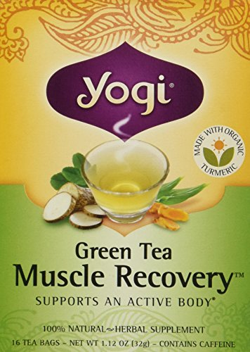 Yogi Tea Muscle Recovery Green Tea Bags (Muscle Recovery Tea Green)