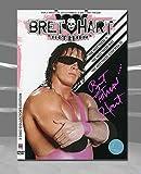 Autograph Authentic HARB000080 Bret Hitman Hart WWE Autographed The Best Wrestling DVD Collectors Set