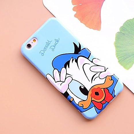 Bleu Donald Duck iPhone 6 Case Coque personnage de dessin animé ...