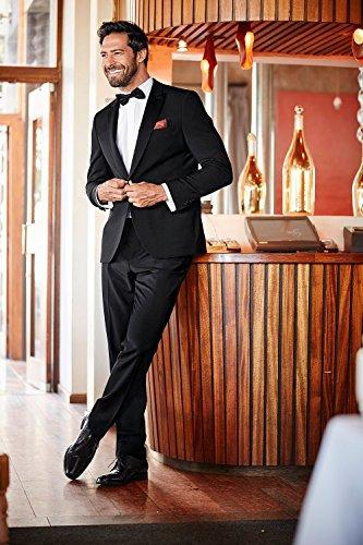 JP 1880 Homme Grandes tailles Pantalon de smoking noir 31 709433 10-31